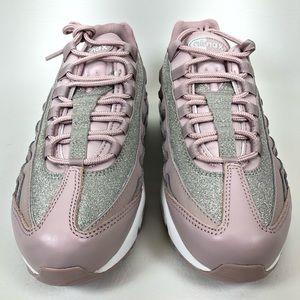 Women's Nike Air Max 95 Rose Glitter Sparkle